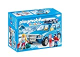 PLAYMOBIL Family Fun 9281 Auto mit Dachbox, Ab 4 Jahren